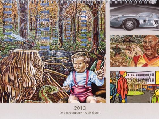 Kalender Titelblatt 2013